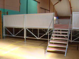 plancher sceniom